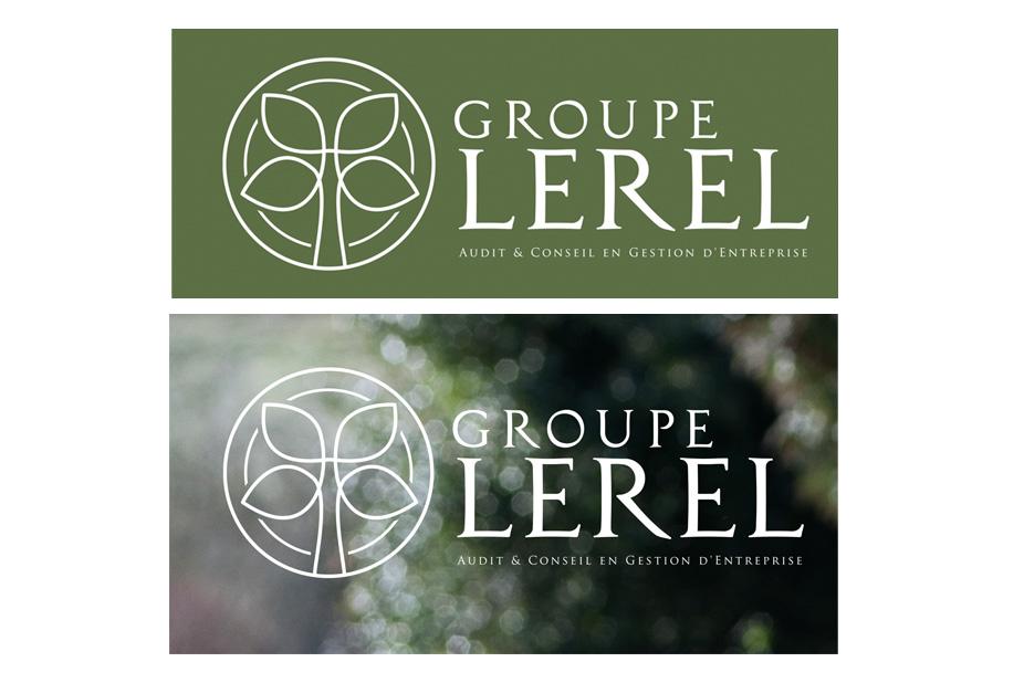Groupe Lerel - Identité visuelle - Agence Claire Contamine RP & Stratégies