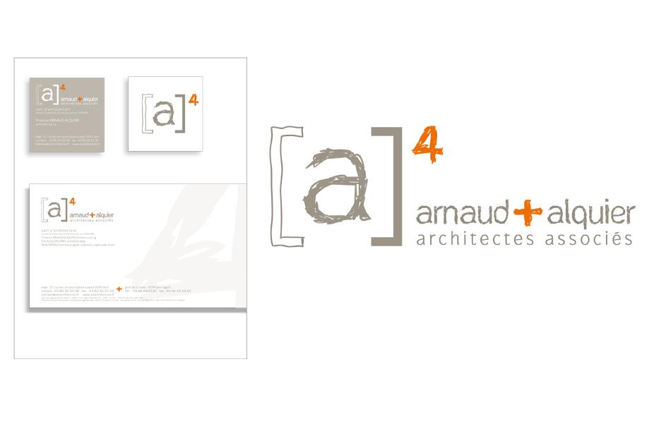 (A)4 Architectes - Identité visuelle